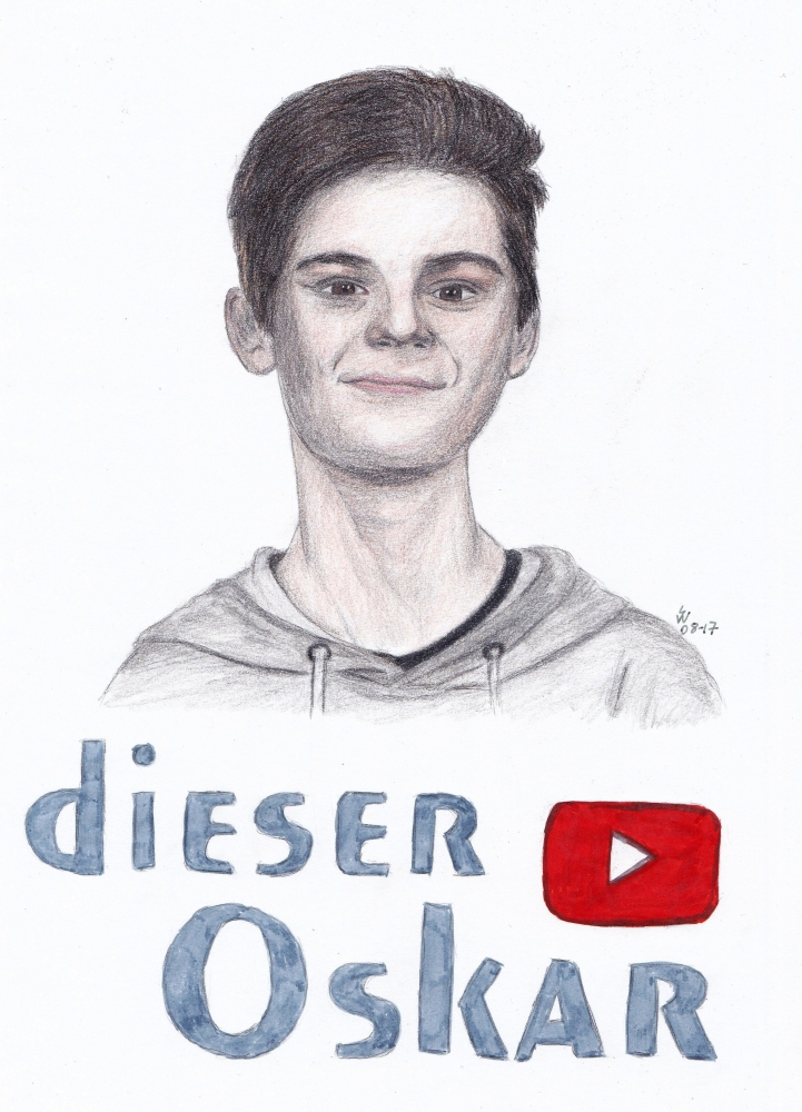 Oskar (vlogger) by monkfan1992